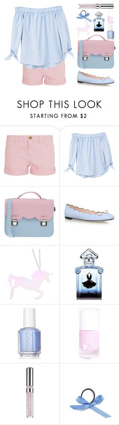 """Casual Date"" by stevie-pumpkin ❤ liked on Polyvore featuring Current/Elliott, MANGO, La Cartella, Gucci, Curiology, Guerlain, Essie, Chantecaille and L. Erickson"