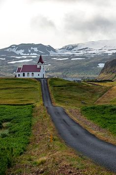 Hellissandur, Snæfellsbær Pennisula, Iceland.