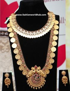 Kasulaperu Long chain collections from Om prakash Jewellers Chains, Peacock, Om, Collections, Jewels, Beautiful, Design, Bijoux, Peacock Bird