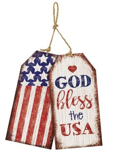 Studio M USA Patriotic Tags Door Decor *** You can get more details by clicking on the image. (This is an affiliate link) 4th July Crafts, Fourth Of July Decor, 4th Of July Decorations, July 4th, Birthday Decorations, Americana Crafts, Patriotic Crafts, Patriotic Party, Summer Crafts