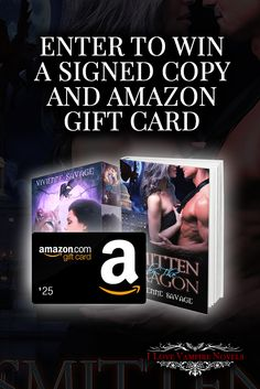 Win a $25 & $10 Amazon Gift Card & Signed Copies from Bestselling Author Vivienne Savage http://www.ilovevampirenovels.com/giveaways/win-25-amazon-gift-card-vivienne-savage/?lucky=181360