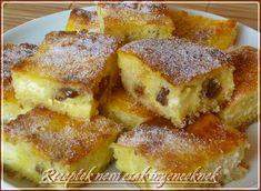Lusta asszony rétese avagy szórós túrós Bread Dough Recipe, New York Style Cheesecake, Light Desserts, Weekday Meals, Sweet Cakes, Cake Cookies, No Bake Cake, Deserts, Dessert Recipes