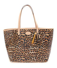 544888a47a Look at this Coach Brown Ocelot NWT Metro Leather Tote on  zulily today!  Discount