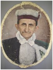 Sem Título, 1953. Óleo sobre tela, 59 x 46 cm. Autora: Antonieta Santos Feio.