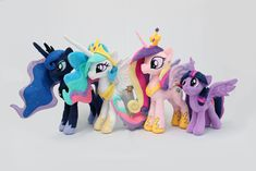 MLP: Four Princesses Toys