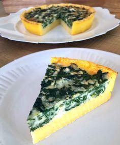 Quiche de polenta y espinacas | RecetasArgentinas.net