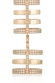 Repossi Berbere gold & diamond ring