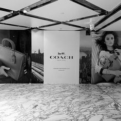 Hoarding up, for the new Coach Store in Westfield Sydney, Collaboration with COACH architecture and CoMa Westfield Sydney, Coach Store, Interior Architecture, Collaboration, Studio, Inspiration, Instagram, Architecture Interior Design, Biblical Inspiration