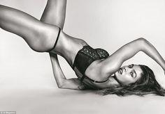 9663b5751f206 Make hearts race in Stella s black lace bra by Victoria s Secret  DailyMail  Martha Hunt