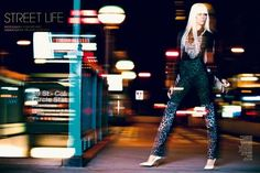Luxure Magazine Winter 2013 - The Luxure Magazine Winter 2013 editorial is a blur of bright lights and edgy ensembles that channel Lady Gaga circa her first megahit 'Just ...