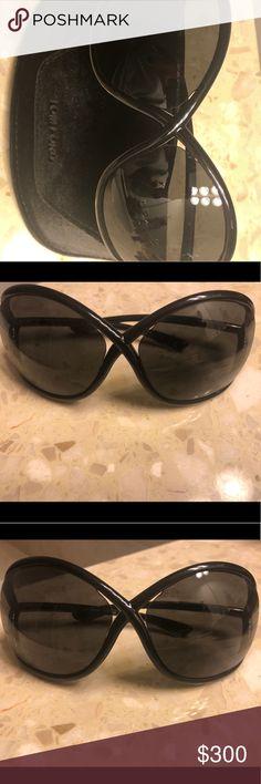 aa542aac4f Tom Ford Whitney Sunglasses TOM FORD WHITNEY TF09 Color  199 SMOKE LENS    SHINY BLACK