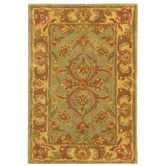 Found it at Wayfair - Heritage Green/Gold Area Rug
