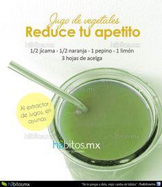 Hábitos Health Coaching | JUGO DE VEGETALES REDUCE TU APETITO