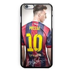 Lionel Messi Barcelona FC Hard Plastic Case For iPhone 6s 6s plus Low Price…