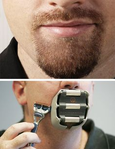 Goatee saver?  Who thinks up these crazy inventions?    likecool.com