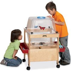 Critter Cove and Sensory Table