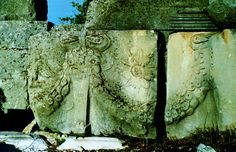 Reliefs from the stage building at Tlos - Turkey.