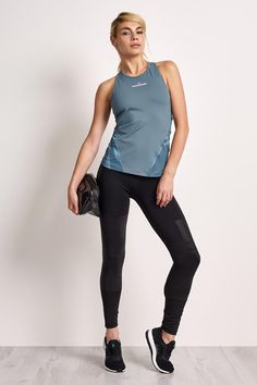 7e5a69ad366 adidas X Stella McCartney Run Tank Chalk Blue - The Sports Edit - 1