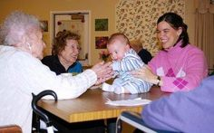 3. Visit a Nursing Home- Contrary to popular belief a nursing home has no more germs than your local grocery store! Although we haven't done this yet, this is a great experience for your little one to brighten the day of others (especially around holidays.) Make a craft with residents, or let your little one play at their feet. The residents really enjoy it, better than therapy dogs! ;-)    www.montessorimeetmot.blogspot.com