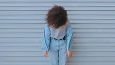 Vintage Levi's jeans with high waist * Classic denim trousers in light blue color * / MEDIUM