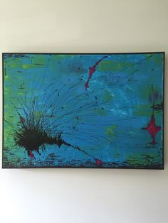 Un preferito personale dal mio negozio Etsy https://www.etsy.com/it/listing/274491030/abstract-painting-on-canvas-modern