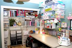 My Craft Room 1 | Flickr - Photo Sharing!