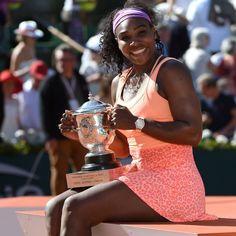 Serena's latest triumph, a memorable 6-3, 6-7(2), 6-2 defeat of Lucie Safarova to win her third Roland-Garros crown, and a magical 20th Grand Slam singles trophy ~ June 6, 2015