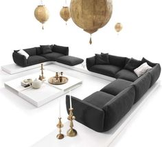 Simple Sultan Seating - The JALIS Sofa Provides a Luxurious Statement Piece