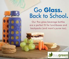 Life Factory Reusable Glass Bottles
