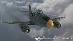 Me 262 toon , Giovanni Bianchin on ArtStation at https://www.artstation.com/artwork/rve5a