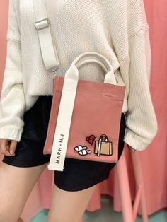 J: the bag that every Korean celeb is obsessing over J Bag, Mochila Jeans, Sacs Design, Fabric Bags, Cute Bags, Casual Bags, Backpack Bags, Purses And Handbags, Fashion Bags