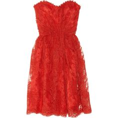 Issa Lace strapless dress and other apparel, accessories and trends. Browse and shop 9 related looks.