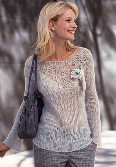 Связать бы СВИТЕРОК... Knitting Loom Socks, Lace Knitting, Free Knitting Patterns For Women, Knitting Designs, Crochet Motifs, Knit Crochet, Angora, Mohair Sweater, Cardigan Pattern