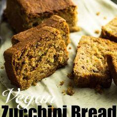 Vegan Zucchini Bread  giverecipe.com   #vegan #zucchinibread