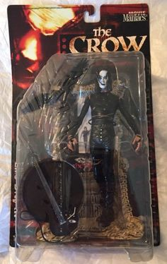 NEW ON CARD THE CROW MOVIE MANIACS Series 2 McFarlane Toys Halloween Brandon Lee | eBay
