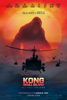 KONG: SKULL ISLAND movie poster No.4 (IMAX)