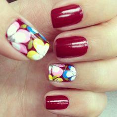Chinese New Year nails! :)