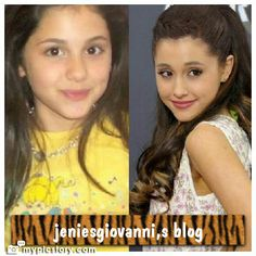 ariana grande then and now