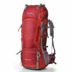 Bac à 55 L Interne Cadre Sac à dos pour Outdoor Randonnée Voyage Escalade Camping