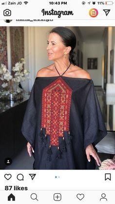 "Best 12 : ""Black, Tassels and Colors! – Page 408420259949560426 – SkillOfKing. Abaya Fashion, Kimono Fashion, Ethnic Fashion, Diy Fashion, African Fashion, Fashion Dresses, Womens Fashion, Balochi Dress, Caftan Dress"