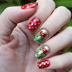 christmas by armstrongamber #nail #nails #nailart
