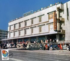 These Vintage Photos Show a Colourful Side of Communism Communism, Photo Archive, Vintage Photos, United Kingdom, Restoration, Street View, Photo And Video, Architecture, Color