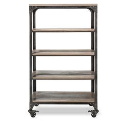 $379.99Franklin 5 Shelf Bookcase - The Industrial Shop™