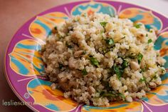Zucchini and Lemon Quinoa recipe