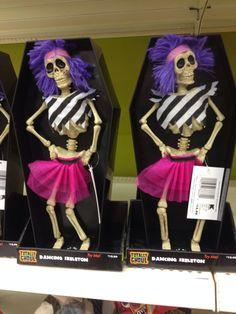 dancing skeletons at kmart halloween decorations - Kmart Halloween Decorations