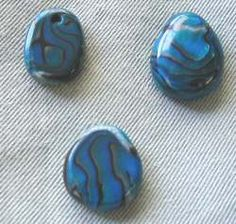 Polymer Clay Central - Faux Paua Shell