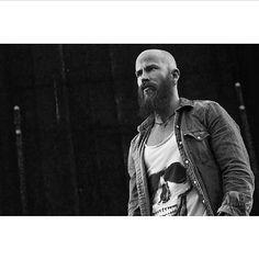 beardcollective:  —> @dacapofitness Bald Men With Beards, Bald With Beard, Bald Man, Great Beards, Long Beards, Awesome Beards, Hairy Men, Bearded Men, Long Beard Styles