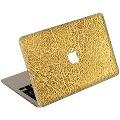 Jamie Clawson Macbook Air Leather Cover ($50) ❤ liked on Polyvore featuring bags, laptop bag, holiday bags, macbook bag, beige bag and beige evening bag