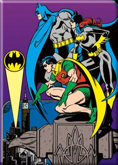 Bat-family by Jose Luis Garcia-Lopez, master of the Bronze age.