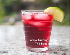Cách pha cocktail trà chanh hoa dâm bụt